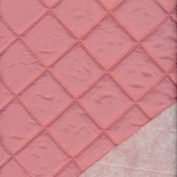 Quiltet stof i rosa-20