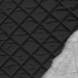 Quiltet med tern i sort-20