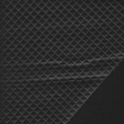 Quiltet læder-look i sort-20