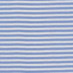 Rest Stribet rib lyseblå/hvid 35 cm.-20