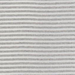 Stribet rib knækket hvid/lysegrå meleret-20