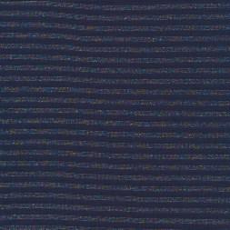 Stribet rib med lurex i blå multifarvet-20