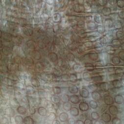 Satin batik m/cirkler, grå-grøn/støvet grøn/hvid-20