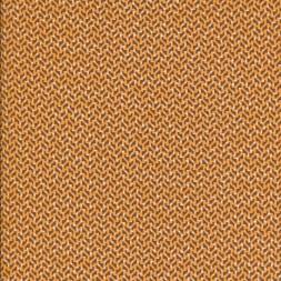 Silke m/lile mønster orange/lys brun/hvid-20