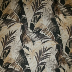 BomuldSilkechiffonmedpalmebladebeigebrun-20