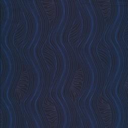 Mønstret blå polyester jersey til sportstøj-20