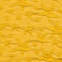 Rest Jacquard strik jersey stjerner, gul, 100 cm.-20