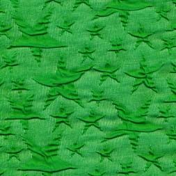 Rest Jacquard strik jersey stjerner, græsgrøn 100 cm.-20