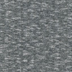 Ribstrikket meleret strik, lysegrå/sort-20
