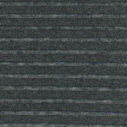 Strik stribet koksgrå meleret/sort transperant-20