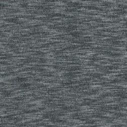 Jersey/strik viscose meleret sort/lysegrå-20