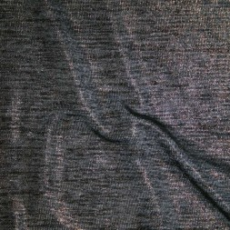 Rest Let strik meleret grå sort m/guld overflade 30 cm.-20