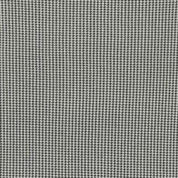 Jersey/strik i hvid sort hanefjeds-look i viskose/lycra-20