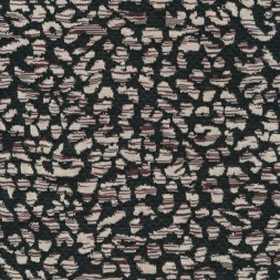 Jacquard strik i dyreprints look i sort, offwhite og brun-20