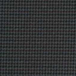 Strik-jersey med hanefjeds mønster grå meleret rød-brun koks-20