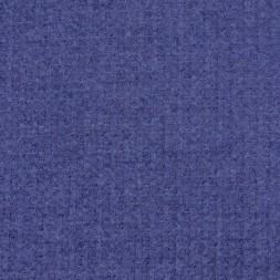 Jacquard strik jersey rillet i denimblå-20