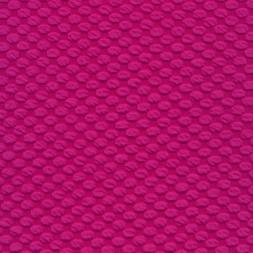 Jacquard strik med prikker i pink-20