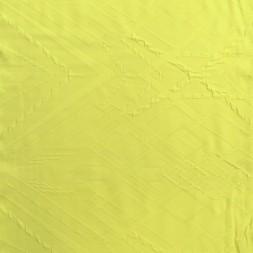 Strik med rude mønster lime-gul-20