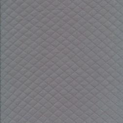 Quiltet strik-jersey, lysegrå-20