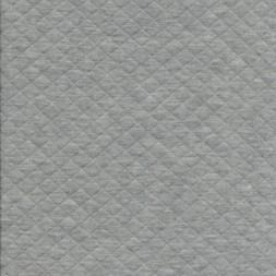 Quiltet strik-jersey, meleret lysegrå-20