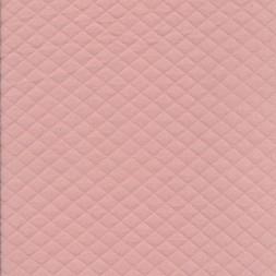 Quiltet strik-jersey, lys rosa-20