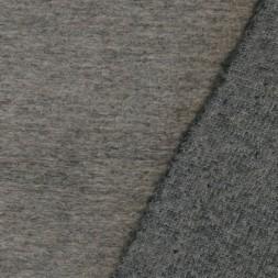 Filtet uld/strik, meleret sand/grå-20