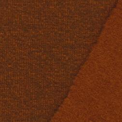 Filtet uld/strik, meleret brændt orange-20