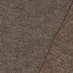 rest Filtet uld/strik, meleret lysebrun/sand, 85 cm.-20