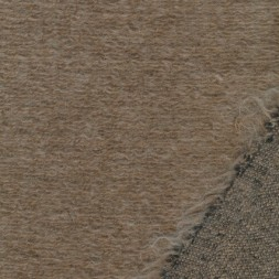 Filtet/strikket uld, beige meleret-20