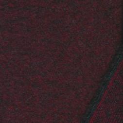 Kraftig Filtet/strikket uld, bordeaux-20