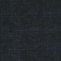 Strikket uld sort støvet blå-20