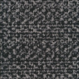 Rest Meleret tweed grå sort-110 cm.-20