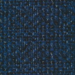 Meleret tweed blå sort-20