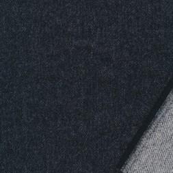 Uld/bomuld med stræk nistret i koksgrå-20
