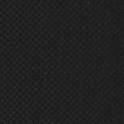 Rest Let 100% uld med lille firkant-mønster koksgrå og sort 50 cm.-20