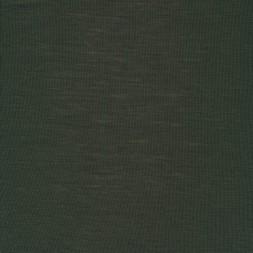 Ribstrikket 100% merino uld, mørk army-20