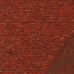 Filtet/strikket uld, brændt orange meleret-20