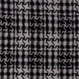 Rest Boucle tern i hanefjed sort/hvid, 75 cm.-20