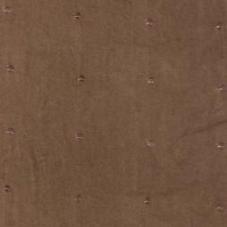 Rest Bomulds-velour m/palietter, lysebrun, 150 cm.-20
