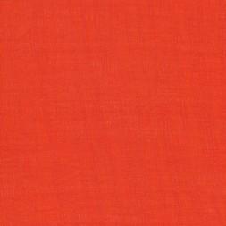 Rest Viscose/polyester m/struktur, orange 100 cm.-20