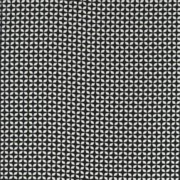 Rest Fast viscose med lille mønster sort hvid, 100 cm.-20