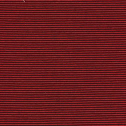 Stribet viscose/strik rød/sort-20