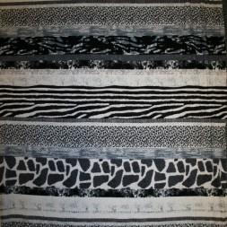 Viscose jersey-striber m/dyreprint grå/sort-20