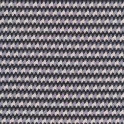 Små-mønstret viscose jersey grå lys grå brun-20