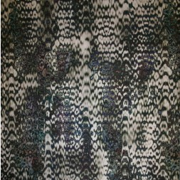 Viskose jersey med dyreprint sand brun blå-20