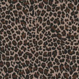 Viskose jersey med dyreprint beige brun sort-20