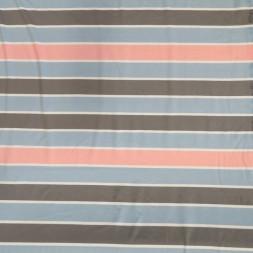 Rest Viscose/lycra med striber i lyseblå, lyserød, grå og hvid 75 cm.-20