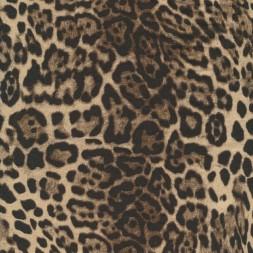 Viskose jersey med dyreprint leopard i beige gråbrun og sort-20