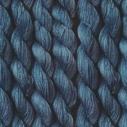 Jersey i Viscose/lycra digitalprint med garn i denim-20