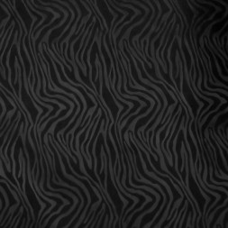 Windbreaker med zebra mønster i sort-20